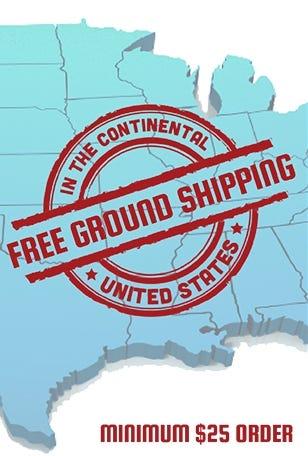 Free Ground Shipping